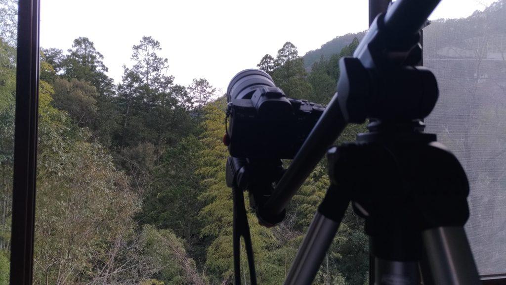 天の川撮影 昼間